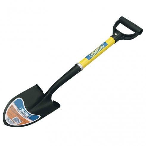 Draper Round Point Mini Shovel with Fibreglass Shaft