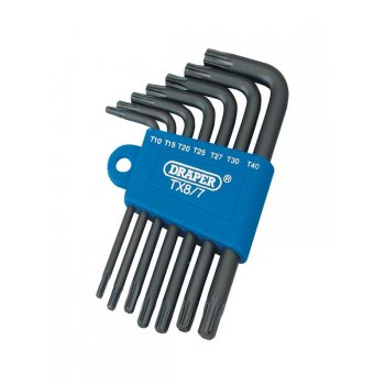 Draper TX-STAR ANGLE KEY SET 7PC