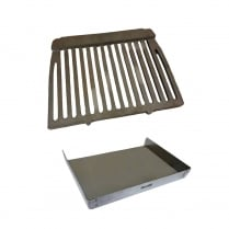 Dunsley Enterprise Cast Iron Fire Grate and Pressed Steel Ashpan