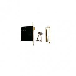 "2 1/2"" Standard 3 Lever Brass Mortice Lock"