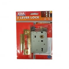 "3 Lever Lock 2 1/2"" (63mm) -  Handles Required"