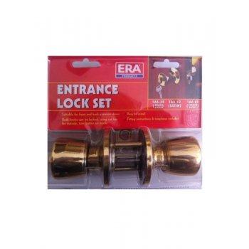 ERA Entrance Lock Set - Brass