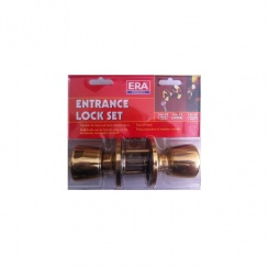 ERA Entrance Lock Set - Brass