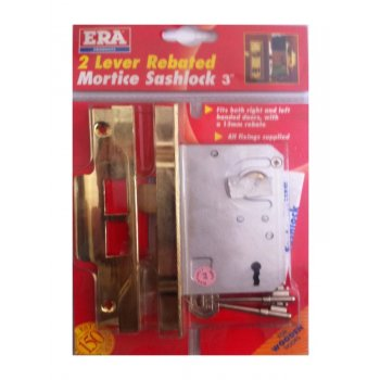 ERA 2 Lever Rebated Mortice Sashlock - 74mm (3