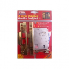 "ERA 2 Lever Rebated Mortice Sashlock - 74mm (3"")"