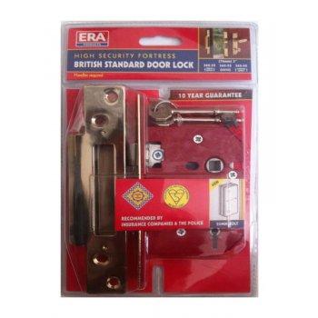 """ERA High Security Fortress - British Standard Door Lock - 64mm (2 1/2"""") Mortice Lock"""