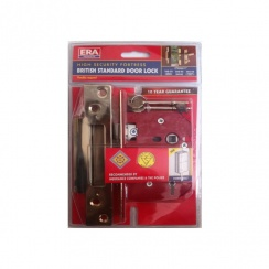 ERA High Securtiy Fortress Brisith Standard Door Lock 76mm Mortice