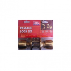 ERA Passage Lock Set - Brass