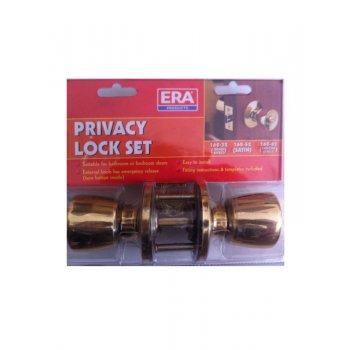 ERA Privacy Lock Set - Brass
