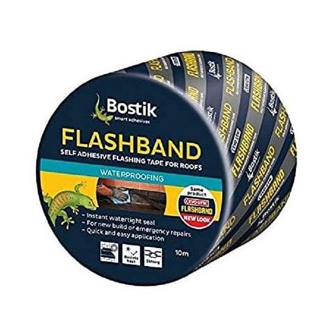 Bostik Evostik/Bostik 10m Flashband Self Adhesive Sealant Strip - 100mm (10m)