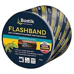 Evostik/Bostik 10m Flashband Self Adhesive Sealant Strip - 100mm (10m)