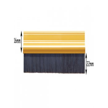Exitex Coated Brush Strip - 914mm Gold