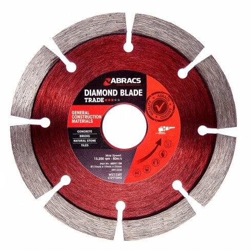 Faithfull Tools Diamond Blade 115x20x22.23mm