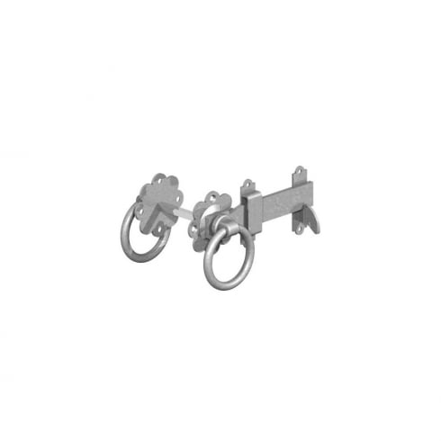 GateMate 150mm Ring Gate Latch Black or Galvanised