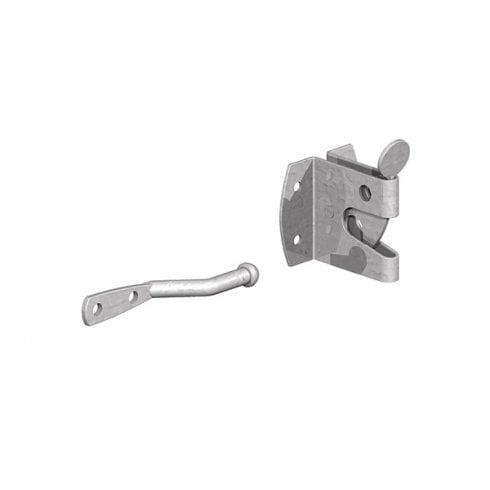 Large Galvanised Standard Auto Gate Latch