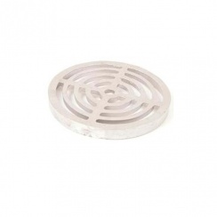 ALUMINIUM ROUND GULLY GRATE (175MM)
