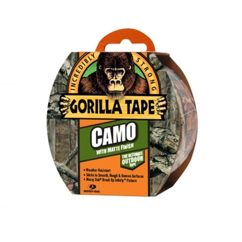 Gorilla Camo Tape - Mossy Oak® 8.2m x 47.8mm