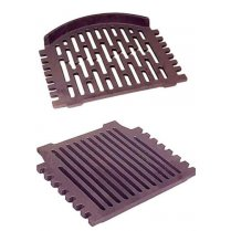 "Grant Triple Or Round Cast Iron Fire Grates- 16"" or 18"" Back Boiler-All Night Burner"
