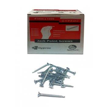 Gyproc Jack Point Screws - 41mm - Box of 1000