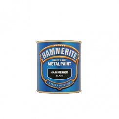 HAMMERITE HAMMERED FINISH 500ML BLACK
