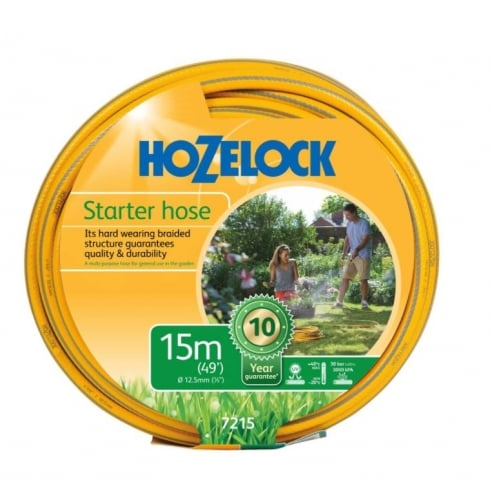 Hozelock Starter Hose available in 15m, 30m or 50m sizes