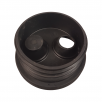 "Hunter Rubber Waste Adaptor Plugs 4"" Pipe 110MM X32/40MM"