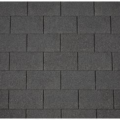 Armourglass PLUS felt roof shingle (pack 14x4) Coverage 2 m² Black