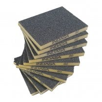 INDASA Double Sided Sanding Pads P60  (10 Pack)