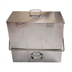 INGLENOOK GALVANISED ASH BOX
