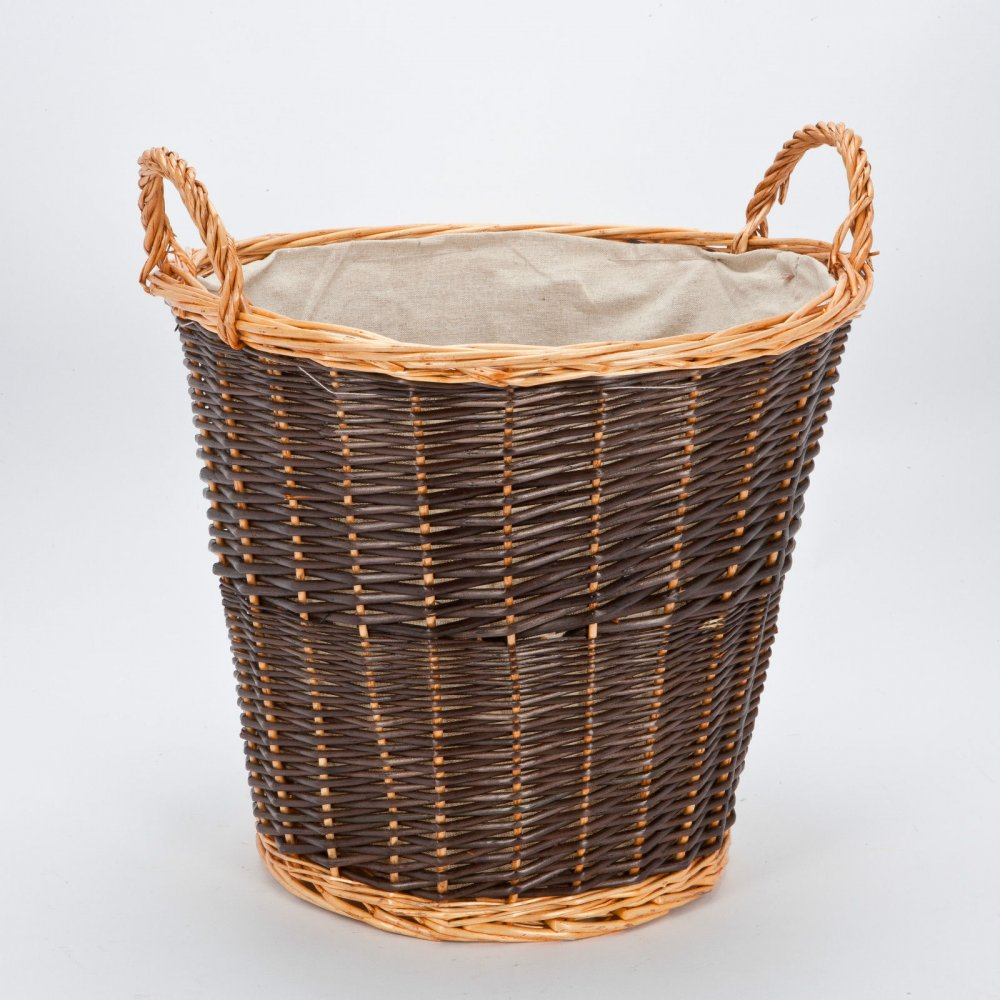 Log Baskets Department Info Based in the UK, The Basket Company offers an extensive selection of handmade log baskets perfect for storing your logs away alongside your log-burning stove.