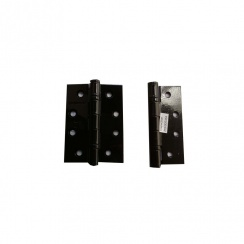 "Intelligent Hardware 4"" Black Ball Bearing Hinges (GRADE 11)"