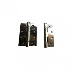 "Intelligent Hardware 4"" Polished Stainless Steel Ball Bearing Hinges (GRADE 13)"