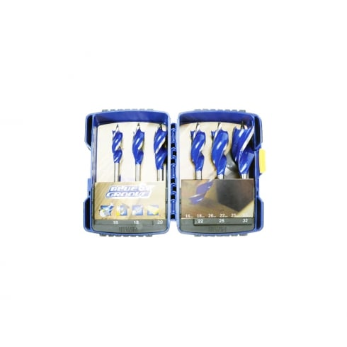 Irwin Tools IRWIN BLUE GROOVE 6PC W/BIT SET 10506628