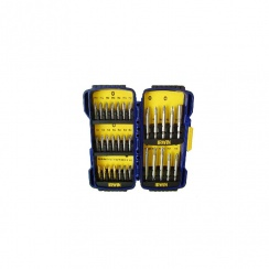 IRWINS SCREWDRIVER BIT SET 31 PC (IN CASE)
