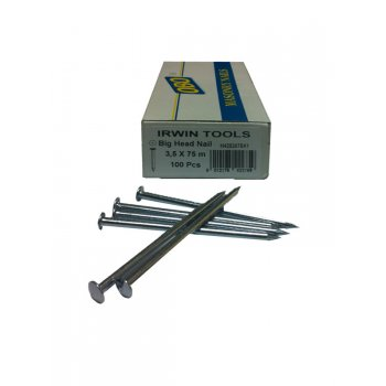 Irwin Tools Masonry Nails Obo Big Top 25mm (Box of 100)