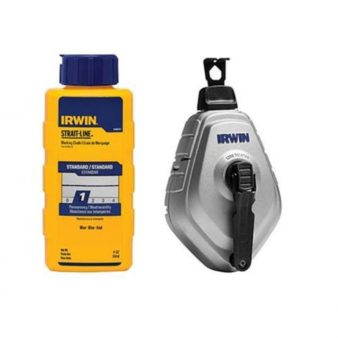 Irwin Tools Strait-Line Chalk Reel Combo