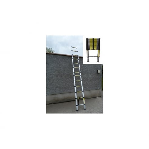 13 STEP Telescopic Ladder - 3.81 mtr