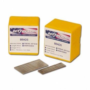 Jefferson Tools Jefferson 16G/32mm Brad Finish Nails (Box of 2500) JEF16/32