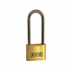 Kasp 40mm Long Shackle Padlock K12540L63D