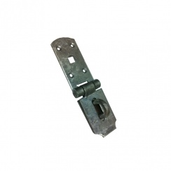 Galvansied Heavy Duty Hasp and Staple - Various Sizes