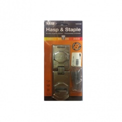 Kasp Hasp and Staple - 155mm - K230155D