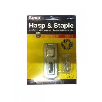Kasp Hasp and Staple - 80mm - K23080D