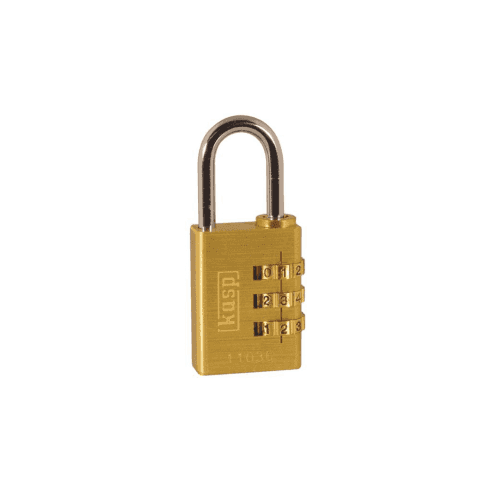 Kasp K11030D Brass Combination Padlock - 30mm