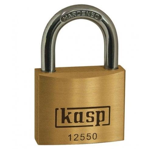 Kasp K12550D Premium Brass Padlock - 50mm