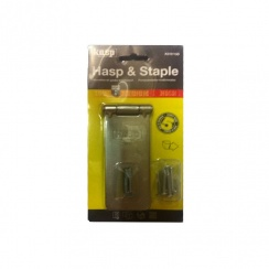 Kasp Hasp and Staple - 115mm - K210115D