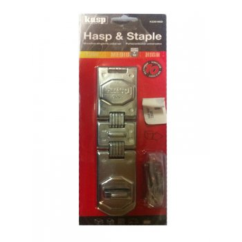 Kasp Hasp and Staple - 195mm - K230195D
