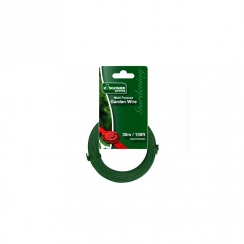 KINGFISHER GARDEN WIRE GREEN 30MTR
