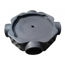 Radon Gas Sump Unit (110mm Spigots)