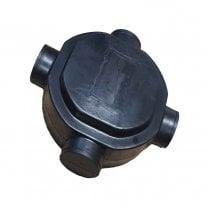 Radon Gas Sump Unit (110mm Spigots)