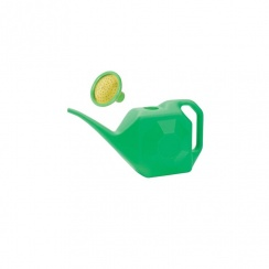 LORDOS GREEN PLASTIC WATERING CAN 10L